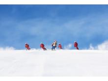 Barnfamiljernas snöparadis i Stöten, Soltorget, förbättras ytterligare till denna säsong