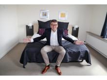 """49-årige Allan Nielsen står i spidsen for den nye ambitiøse virksomhed """"Forenede Hotelservice"""""""