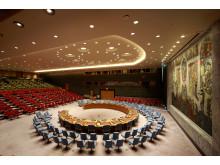 Sikkerhetsrådets sal, 2018.