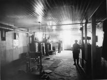 Historisk bild från fabriken i Charlottenberg