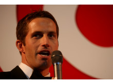 SportsAid alumnus Sir Ben Ainslie at the SportsBall in 2007