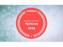 Vinnare i Årets Nyhetsrum 2016