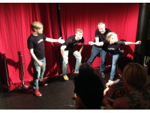 Teatersport med Rattle
