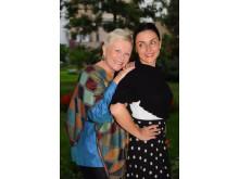 Disa Åberg och Linda Bonaventura debuterar i maj – mor och dotter skrev roman tillsammans