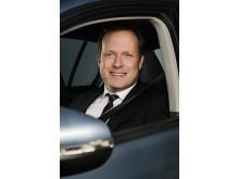 Sten Forsberg, chef för Volkswagen i Sverige.