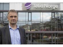 Abraham Foss, CEO i Telia Norge.