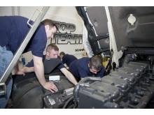 Scania-teknikere dyster på fejlfinding, paratviden og samarbejde