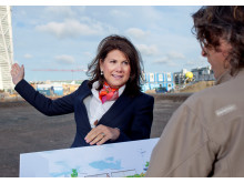 Vesna Brankovic, projektansvarig E.ON - E.ON bygger energismarta hus i Malmö, Västra hamnen