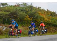 Sverige är en populär cykeldestination i Europa