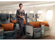 A350 ULR Premium economy class vue