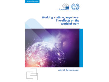 Report cover: Working anytime anywhere: The effects on the world of work