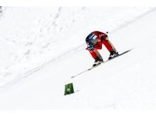 Christian Jansson, svensk rekordhållare i speedski