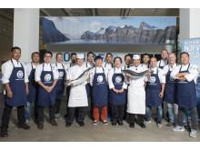 Dabei sein ist alles: Deutschlands 15 beste Sushi-Chefs, die es ins Halbfinale der Global Sushi Challenge schafften.