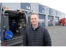 Country Project Manager Nicolai Sperling, fra MAN glæder sig over at TGE'en nu er gået I produktion