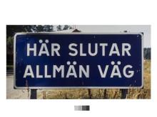 Dan Wolgers, Här slutar allmän väg I, 1995