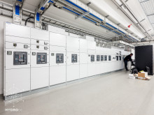 Hydro66 colocation datacenter low voltage power distribution
