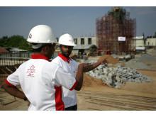 Uppbyggnad i Sri Lanka efter tsunamin