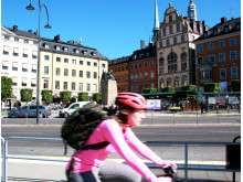 Cykla i Stockholm