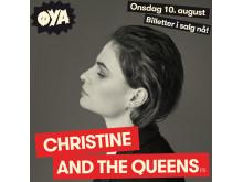 Christine And The Queens (c) Øyafestivalen