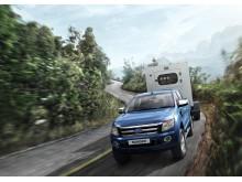 Ford ja perävaunun vetäminen