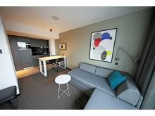 Modern ausgestattetes Appartement mit separatem Schlafzimmer