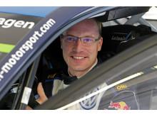 Jari-Matti Latvala porträtt inför Rally Australia