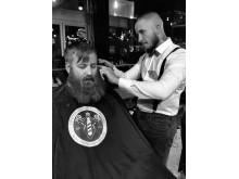 """Azzam """"Azzy""""Ramazan, Azzy Barbershop, Stockholm"""
