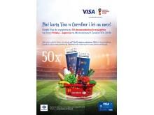 Loteria Carrefour FIFA - plakat hipermarket