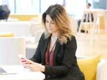 Heba Hamour en av Språkkraft Anvädare