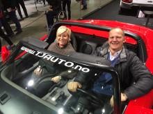Ministerbesök på Oslo Motor Show