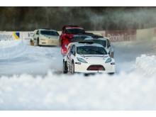 Westlund vill upp på pallen igen när RallyX On Ice kommer till Lindvallen