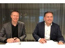 Oslo Pensjonsforsikring og 4Service signerer avtale
