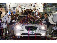 Miljonte bilen i Hyundais fabrik i USA