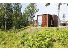 Deromes bostäder i Norra Hallsås, Lerum ligger insprängda mitt i naturen.