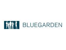 Bluegarden logo - Blå