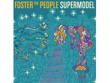 "Foster The People - Albumomslag ""Supermodel"""