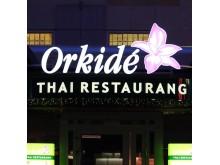 Neonskylt Orkide