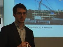 Anders Alseth, rådgiver i Enova, viste frem ulike støttetiltak som Enova tilbyr innenfor næringsbygg.