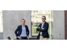 Jan Dobbenie, CEO en Kristof Coucke, CTO bij Dobco Medical Systems