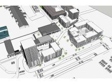 Drottninghögs Centrum, planer