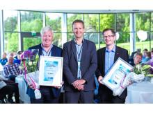Vant Sørlandets Energipris 2016: Arendal Eiendom KF og Asko Agder er Sørlandets smarteste strømbrukere