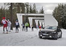 Volvospåret Vasaloppets vintervecka
