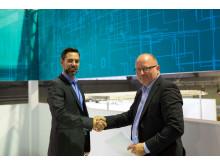Hi-res image - Kongsberg Maritime - Siemens partnership