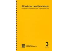 Allmänna bestämmelser och andra standardkontrakt för byggsektorn - ny utgåva