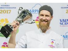 Hans Berg, Ett Bageri vann Glass-SM 2017