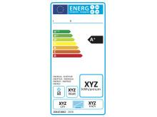 Energimärkningsetikett för TV-apparater