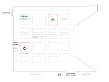 Karta över mässhallen GIT-mässan 2013