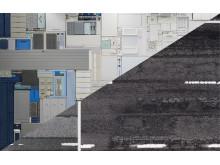 Bildcollage av verk av Michael Johansson och Clay Ketter
