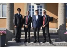 HE Ambassador of Japan Jun Yamazaki  visited ÅAC Microtec in Uppsala, Sweden.