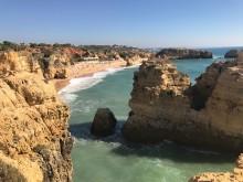 Utsikt Algarves kust